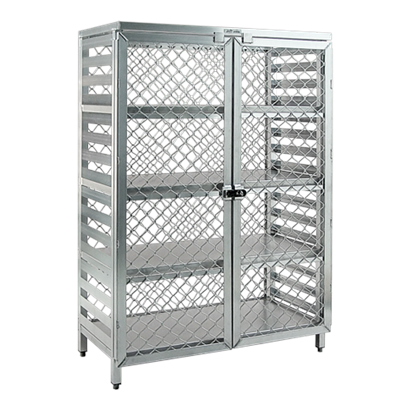 """New Age 72""""H Aluminum Security Cage"""