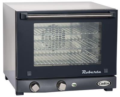Cadco OV-003 Electric Countertop Quarter-Size Convection Oven - Countertop Convection Ovens