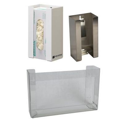 San Jamar Triple Clear Plastic Glove Dispenser