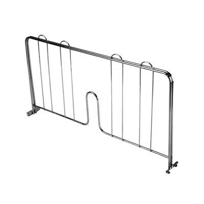 """Economy Wire Shelving Chrome 14"""" Shelf Divider"""