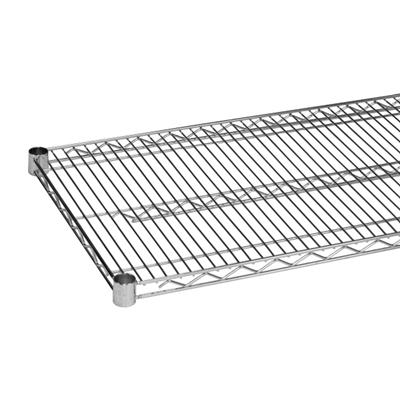 """Economy 24"""" x 48"""" Chrome Wire Shelf"""