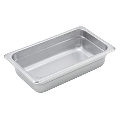 "Economy Anti-Jam 1/4 Size, 2-1/2"" D Steam Table Pan"