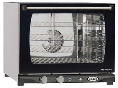 Cadco XAF-133 LineChef Half-Size Electric Convection Oven - Countertop Convection Ovens
