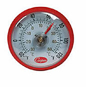 Cooper Cooler Thermometer - Refrigerator/Freezer Thermometers