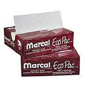 "Marcal Eco-Pac 6"" x 10"" Wax Paper - Butcher and Wax Paper"