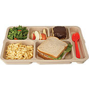 Cook's 617S Tan Flex Tray - Cook's Brand
