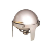 American Metalcraft Adagio Chafer with Gold Handle Round - American Metalcraft