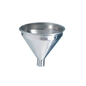 American Metalcraft 1/2 Pint Aluminum Funnel - Miscellaneous Parts