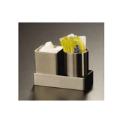 American Metalcraft Satin Sugar Pack Holder Square - American Metalcraft