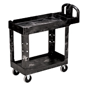 "Rubbermaid Heavy-Duty 18"" x 39"" Utility Cart - Rubbermaid"
