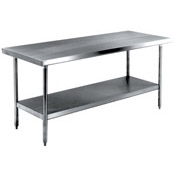 Advance Tabco Heavy Duty SS-305HD Stainless Steel Work Table