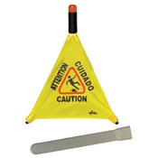Floor Cleaning Supplies - Floor Cones and Signs