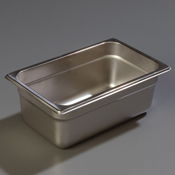 "Carlisle 607144 Light-Duty 1/4 Size 4""D Food Pan"