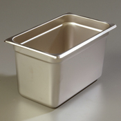 "Carlisle 607146 Light-Duty 1/4 Size 6""D Food Pan"