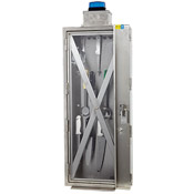 "Cook's 18"" x 43"" Tool Locker with Warning Light"