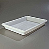 "Carlisle 18"" x 26"" x 3-1/2"" White Food Storage Box"