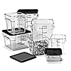 Carlisle StorPlus White 22 qt Square Food Storage Container