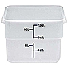 Cambro Poly 12 qt. CamSquare Containers