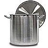 Vollrath Optio 38 Qt Stainless Steel Stock Pot