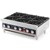 Vollrath 6-Burner Counter Top Gas Hot Plate
