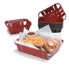 "Carlisle 8"" x 10-3/8"" Munchie Baskets&trade   Plastic Food Baskets"