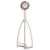 Vollrath 47159 9/16 oz Stainless Steel Round Squeeze Disher - Size 60
