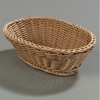 "Carlisle 9"" x 6-1/4"" Oval Baskets   Plastic Food Baskets"