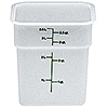 Cambro Poly 4 qt. CamSquare Containers