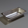"Carlisle 607132 Light-Duty 1/3 Size, 2-1/2""D Food Pan"
