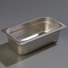 "Carlisle 607134 Light-Duty 1/3 Size, 4""D Food Pan"