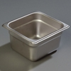 "Carlisle 607164 Light-Duty 1/6 Size 4""D Food Pan"