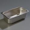 "Carlisle 608134 Heavy-Duty 1/3 Size, 4""D Food Pan"