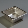 "Carlisle 608162 Heavy-Duty 1/6 Size, 2-1/2""D Food Pan"