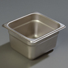 "Carlisle 608164 Heavy-Duty 1/6 Size, 4""D Food Pan"