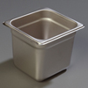 "Carlisle 608166 Heavy-Duty 1/6 Size, 6""D Food Pan"