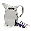 Carlisle 609273 3 qt Stainless Steel Bell Pitcher
