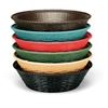 "Carlisle 9"" Round Baskets   Plastic Food Baskets"