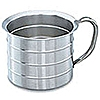 Vollrath Stainless Steel Gallon Urn Cup | Measures