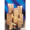 "Kraft #2 Size, 4-5/16"" x 2-7/16"" x 7-7/8"" Brown Paper Bag"
