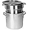 Economy 8 qt Aluminum Double Boiler