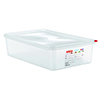 Araven 03036 14.4 Qt Full Size Polypropylene Square Containers