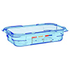 Araven 07816 1.8 L 1/4 Size Polypropylene Airtight Containers