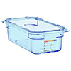 Araven 07817 2.8 L 1/4 Size Polypropylene Airtight Containers