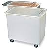 Carlisle 27 Gallon White Ingredient Bin