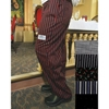 BVT-Chef Revival Pin-Stripe Chef Pants (XXL Size)