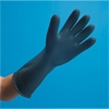 "San Jamar 17"" Heavy Duty Rubber Gloves"