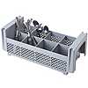 "Cambro Half Size 4-3/4""H Flatware Basket without Handles"