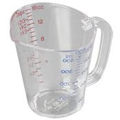 Carlisle 4314207 Clear Plastic Measuring Pint