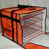 Carry Hot Pizza Delivery Bag Rack - Holds 6