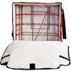 Carry Hot Pizza Delivery Bag Rack - Hold 10